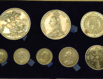 1887 Queen Victoria Jubilee Set