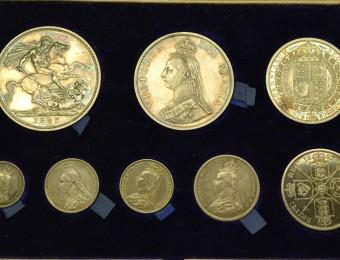 1887 Queen Victoria Jubilee Set