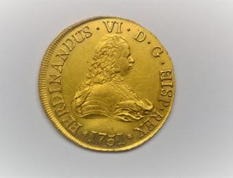 8 Escudos Fernando VI 1751