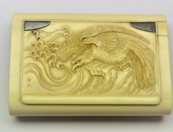 Japan Antique Ivory Box