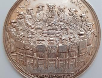 "1701 Silver Medal Geneva ""Médaille de la Truite"""