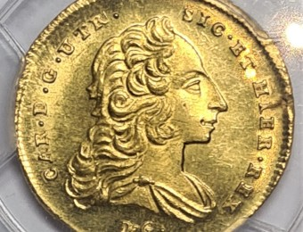 6 Ducats Naples and Sicily 1753/2