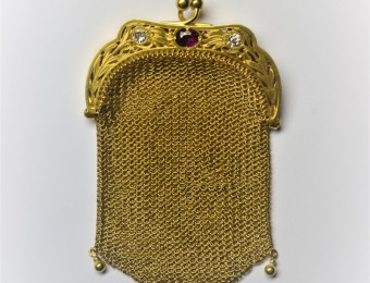 Gold Belle Epoque Purse