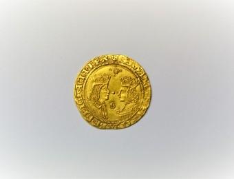 Doble Excelente Reyes Católicos Fernando and Isabel 1474-1516