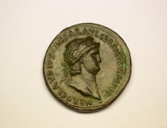 Nero Sestertius 54-68 AD