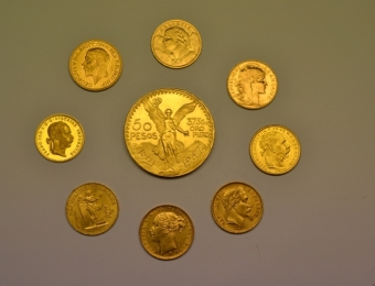 Bullion gold coins