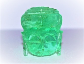 Carved Emerald