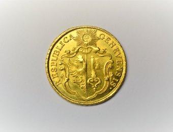 Triple Pistole Genève 1771